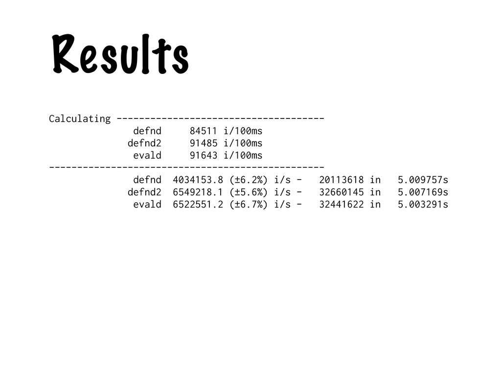 Results Calculating ---------------------------...