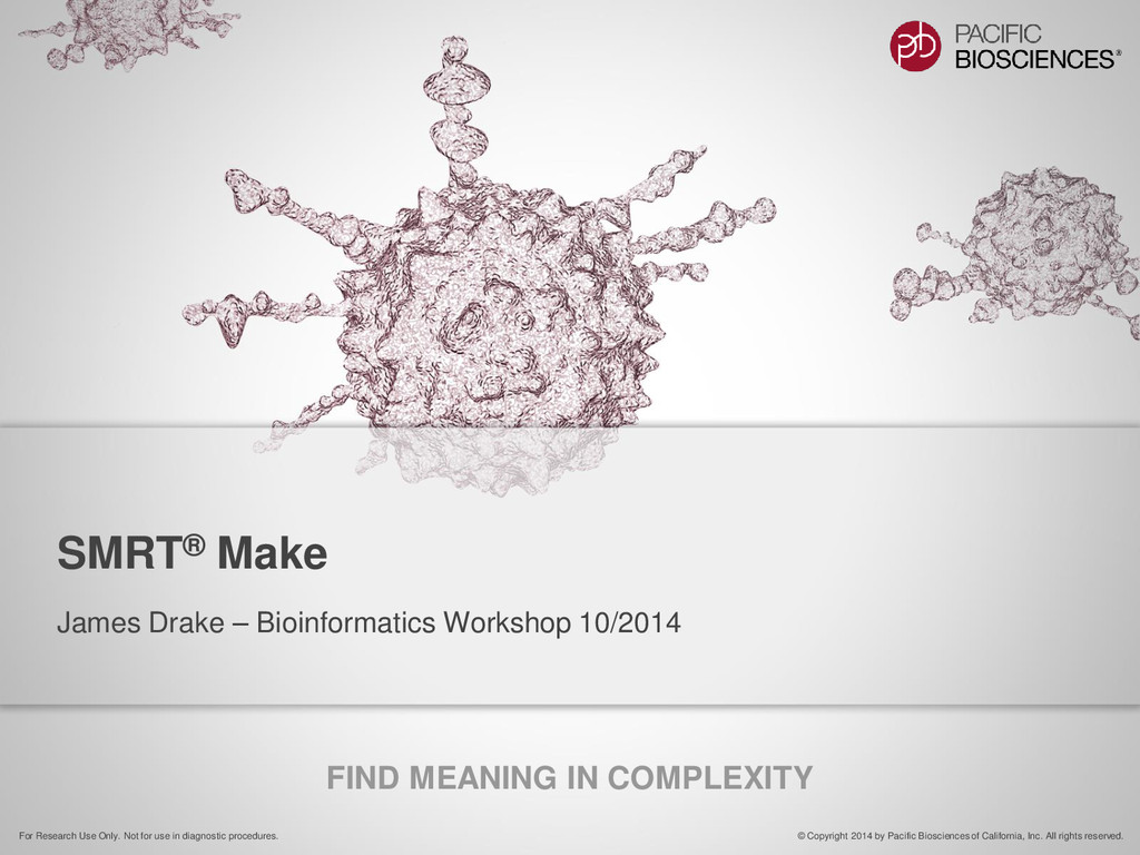 FIND MEANING IN COMPLEXITY © Copyright 2014 by ...