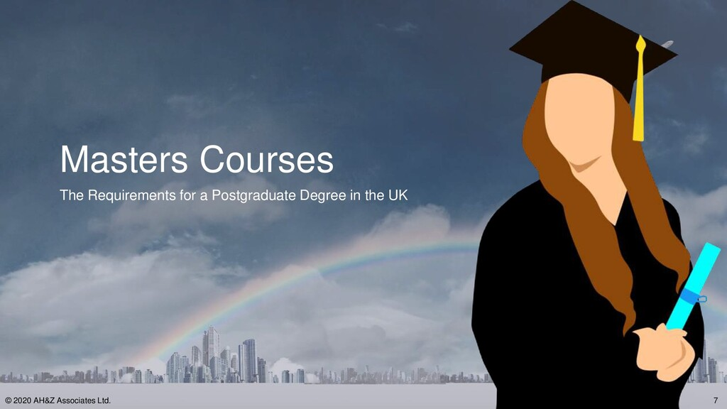 Masters Courses The Requirements for a Postgrad...