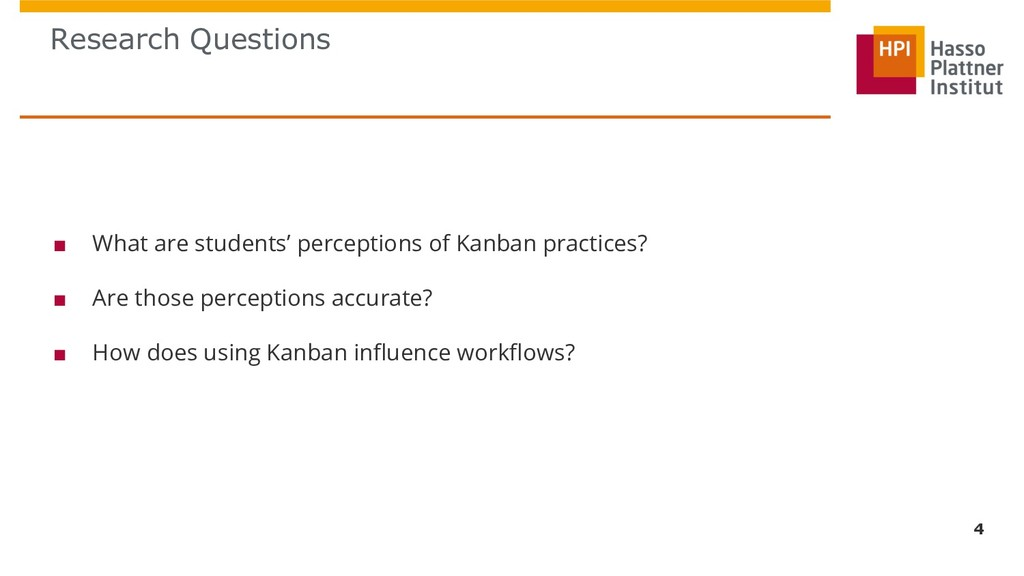 Research Questions 4 ■ What are students' perce...