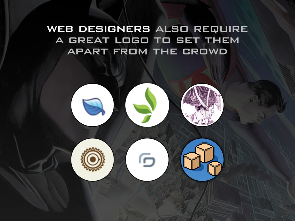 web designers also require a great logo to set ...