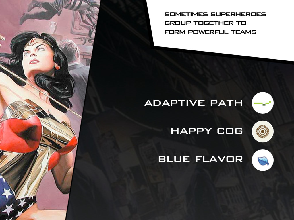 adaptive path happy cog blue flavor sometimes s...