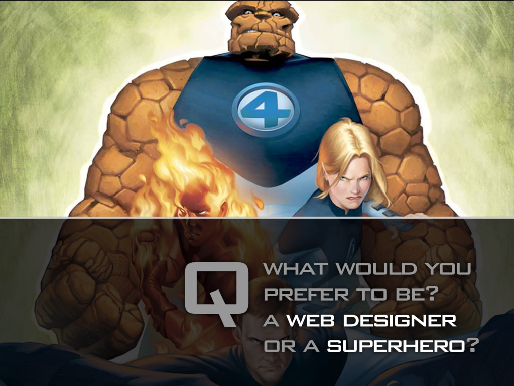 what would you prefer to be? a web designer or ...
