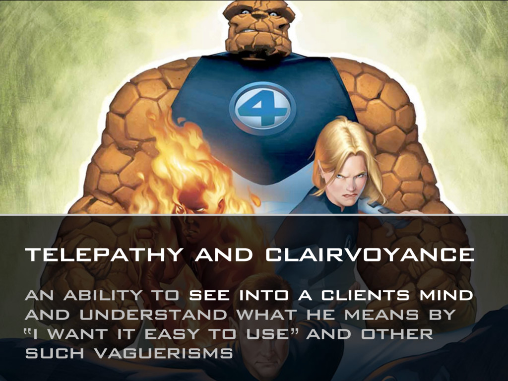 telepathy and clairvoyance an ability to see in...