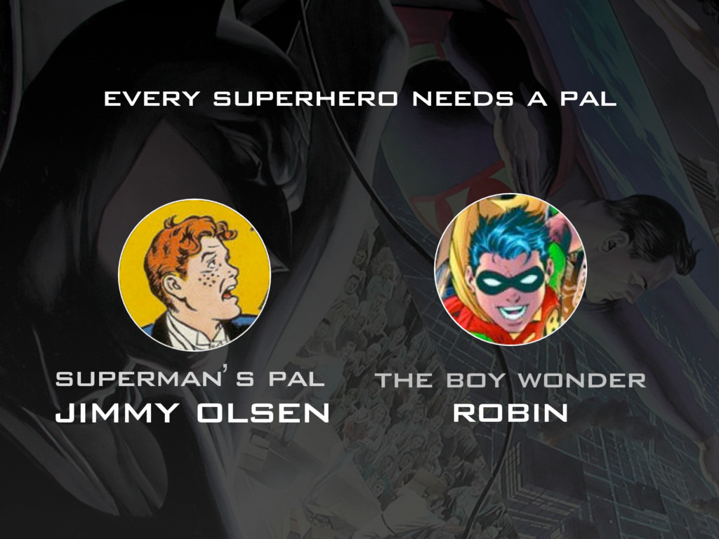 superman s pal jimmy olsen the boy wonder robin...