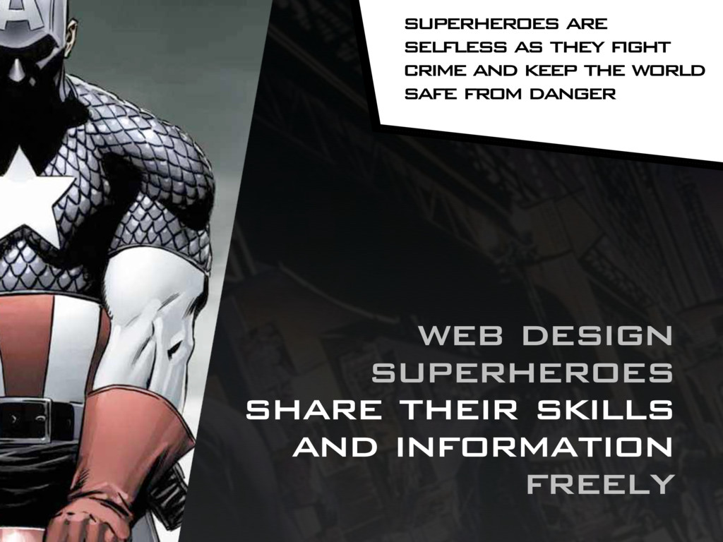 web design superheroes share their skills and i...