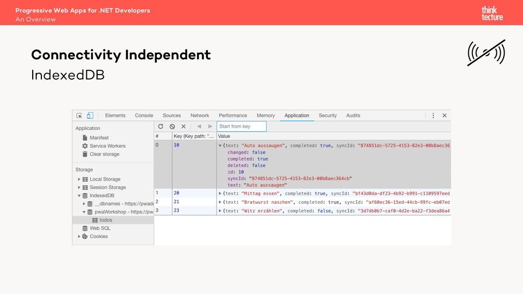 IndexedDB Progressive Web Apps for .NET Develop...