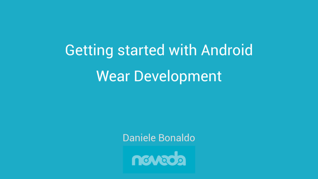 Getting started with Android Wear Development D...