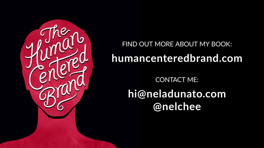 FIND OUT MORE ABOUT MY BOOK: humancenteredbrand...