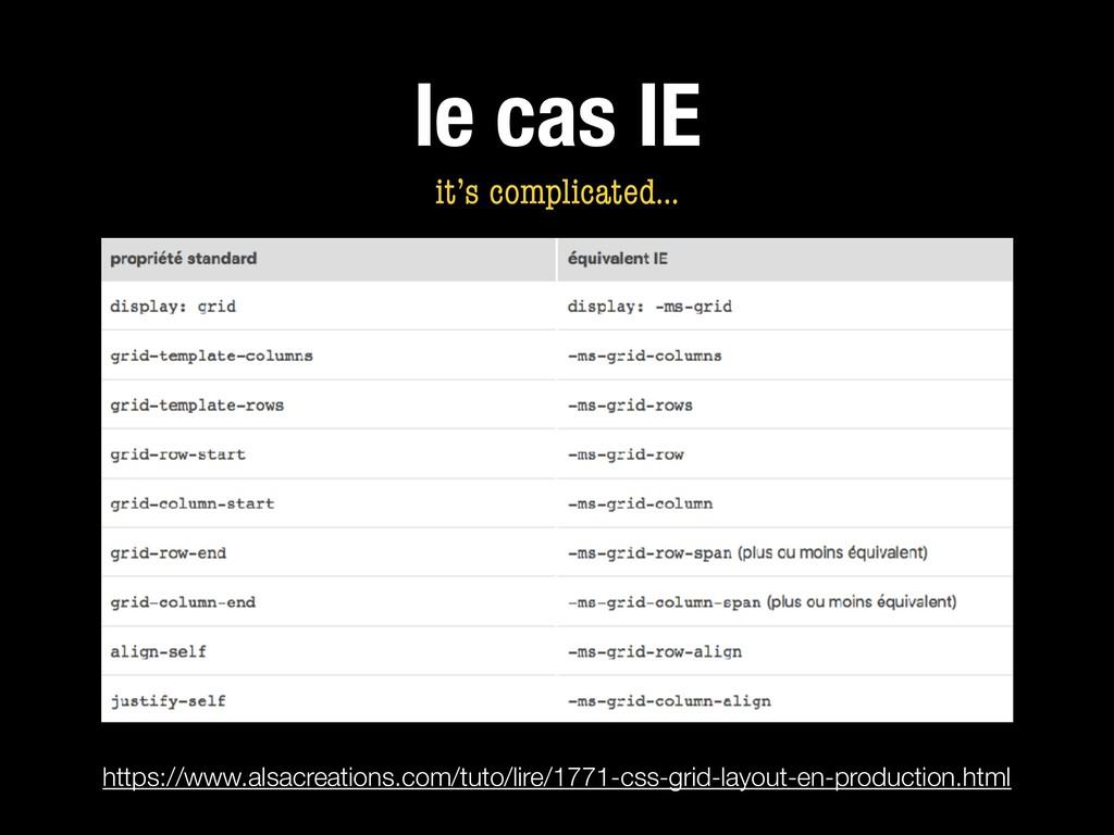 le cas IE https://www.alsacreations.com/tuto/li...