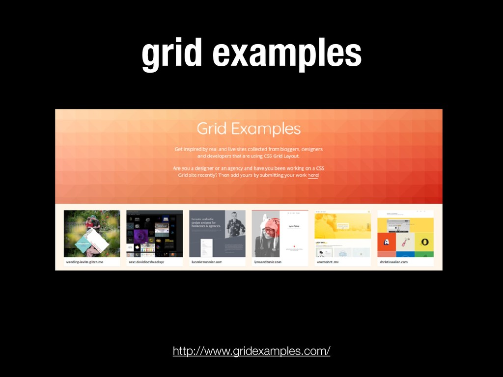 grid examples http://www.gridexamples.com/