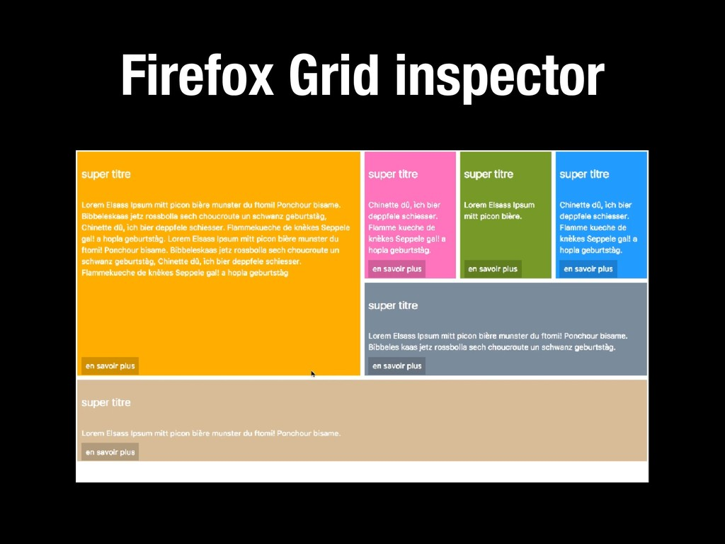 118 Firefox Grid inspector