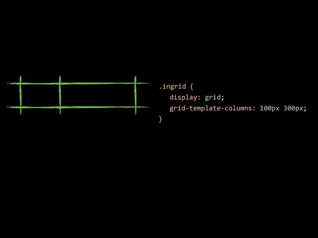 .ingrid { display: grid; grid-template-columns:...