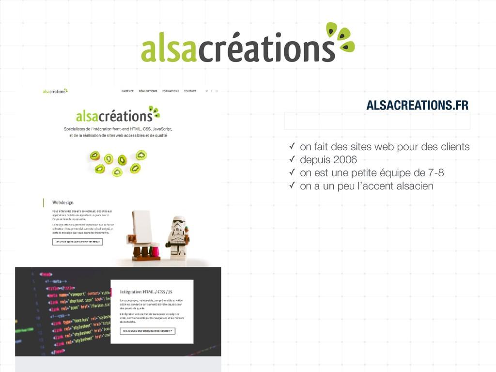 ALSACREATIONS.FR agence web, organisme de forma...