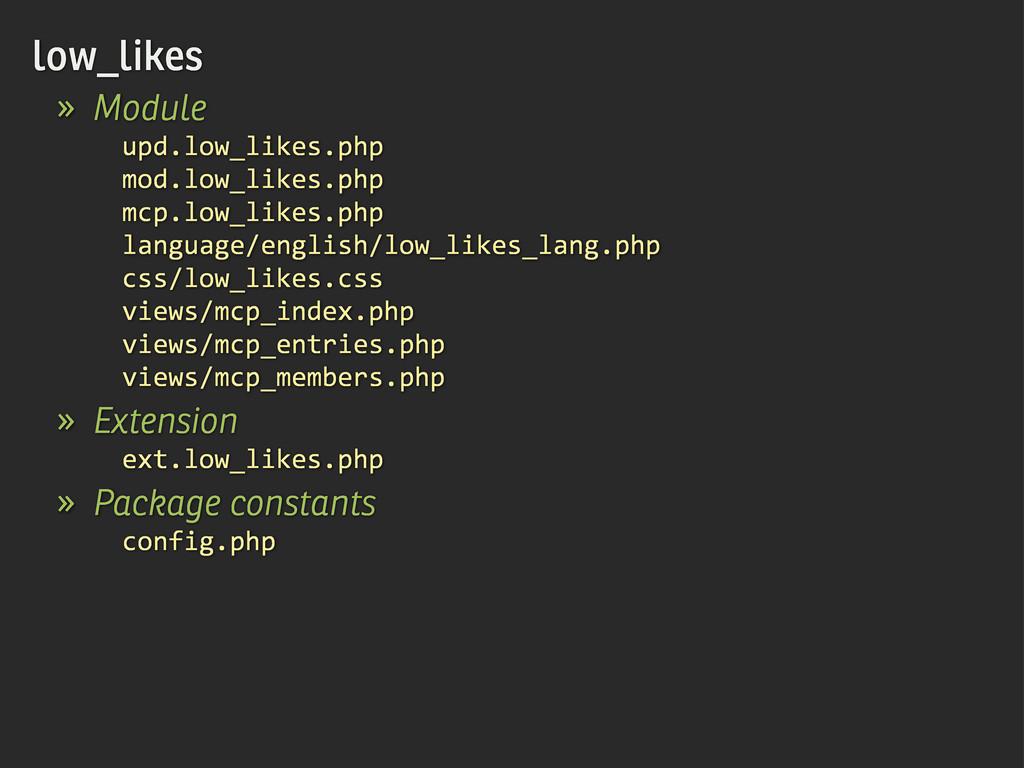 low_likes » Module upd.low_likes.php mod.low_li...