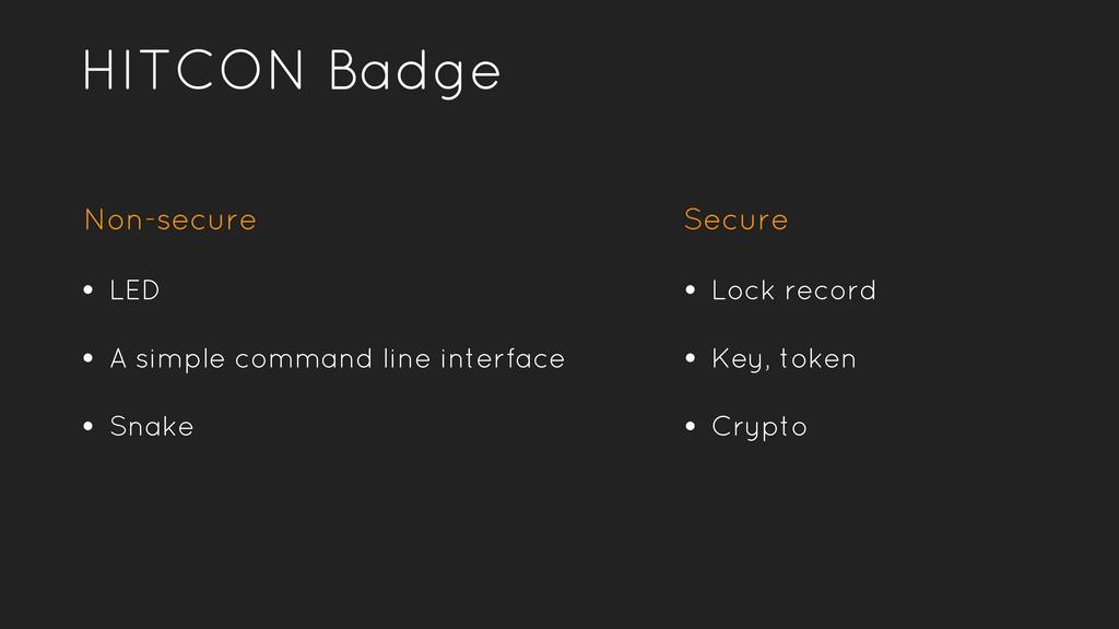 HITCON Badge • LED • A simple command line inte...
