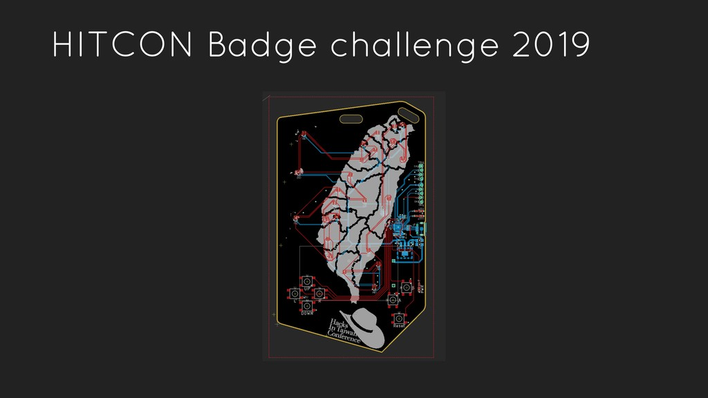 HITCON Badge challenge 2019