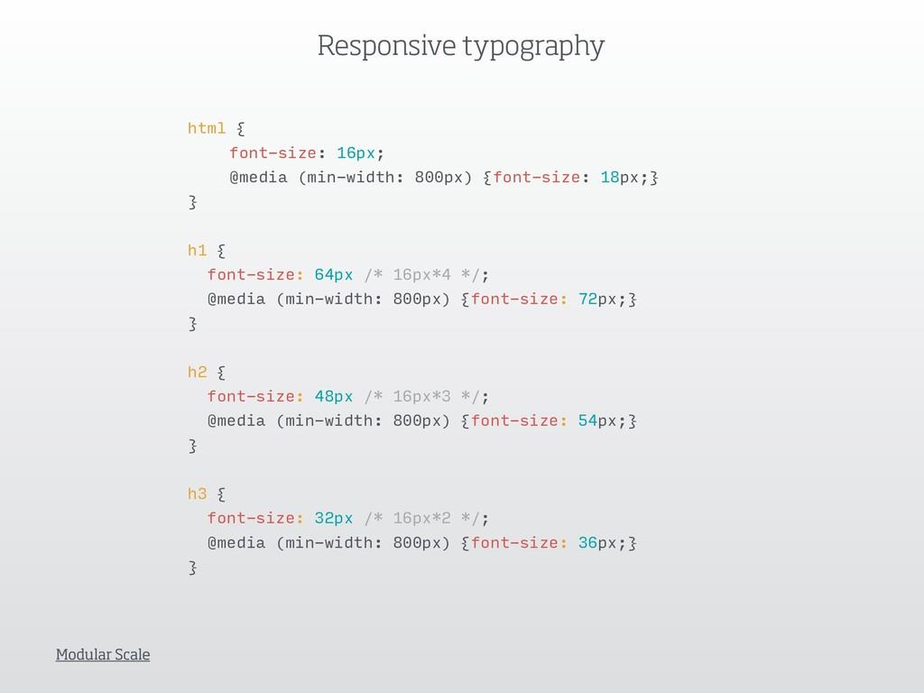 html { font-size: 16px; @media (min-width: 800p...