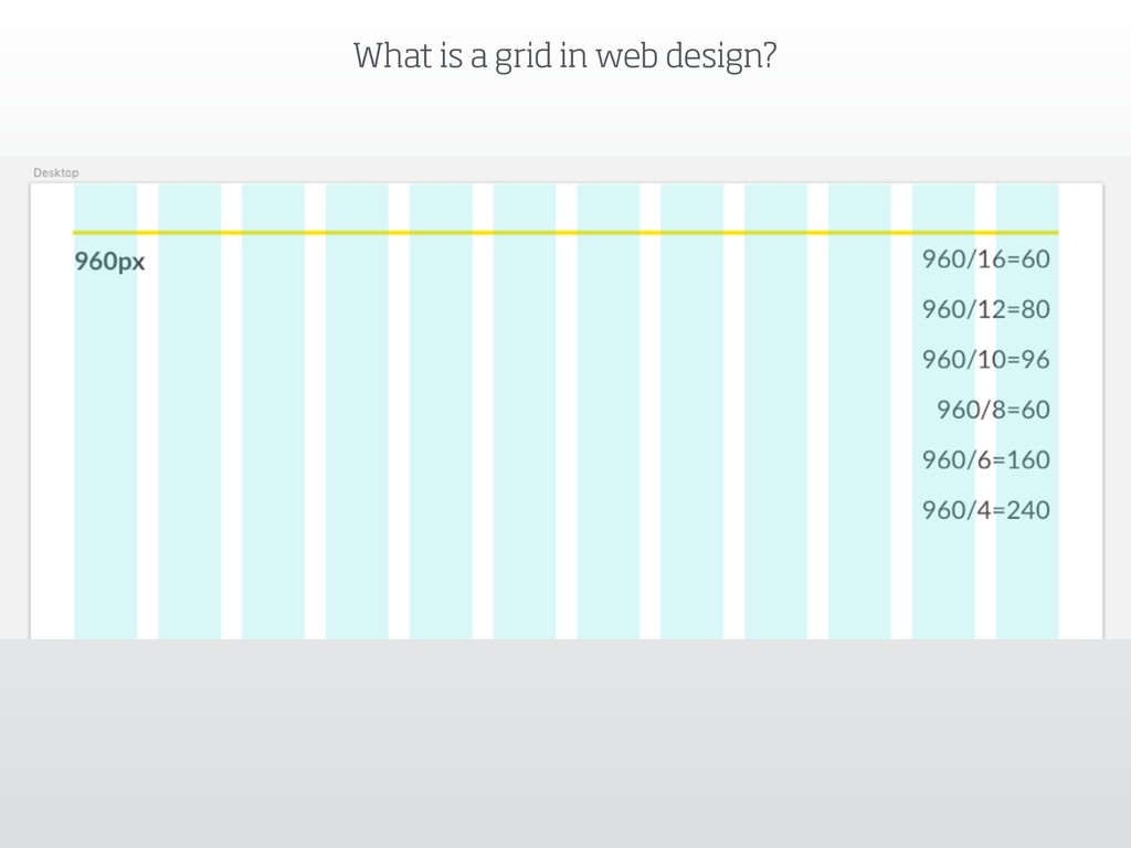 What is a grid in web design?