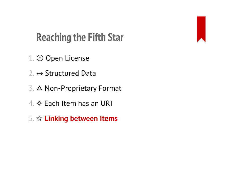 Reaching the Fifth Star 1. ⊙☉ Open License 2. S...