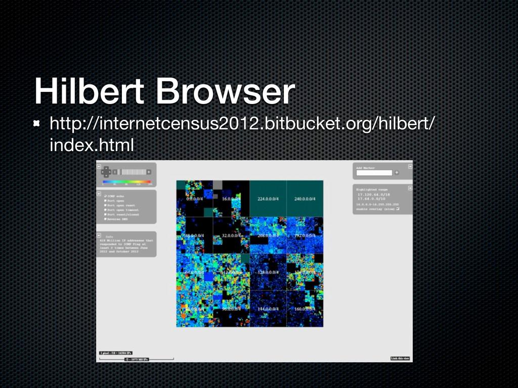 Hilbert Browser http://internetcensus2012.bitbu...