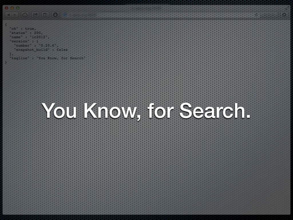You Know, for Search.