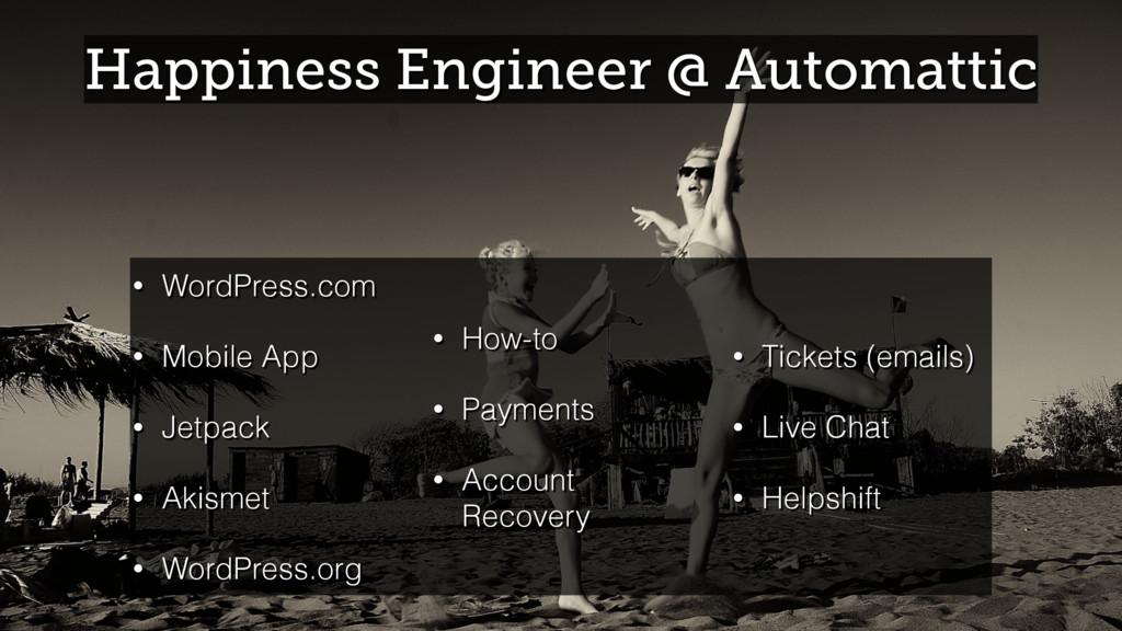 Happiness Engineer @ Automattic • WordPress.com...