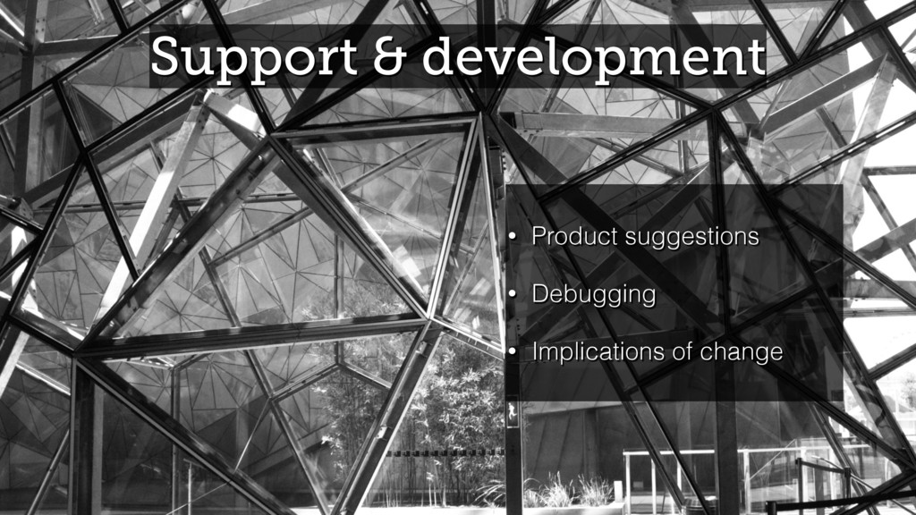 Support & development • Product suggestions • D...