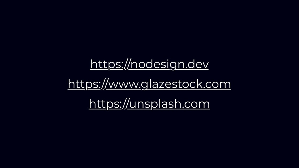 https://nodesign.dev https://www.glazestock.com...