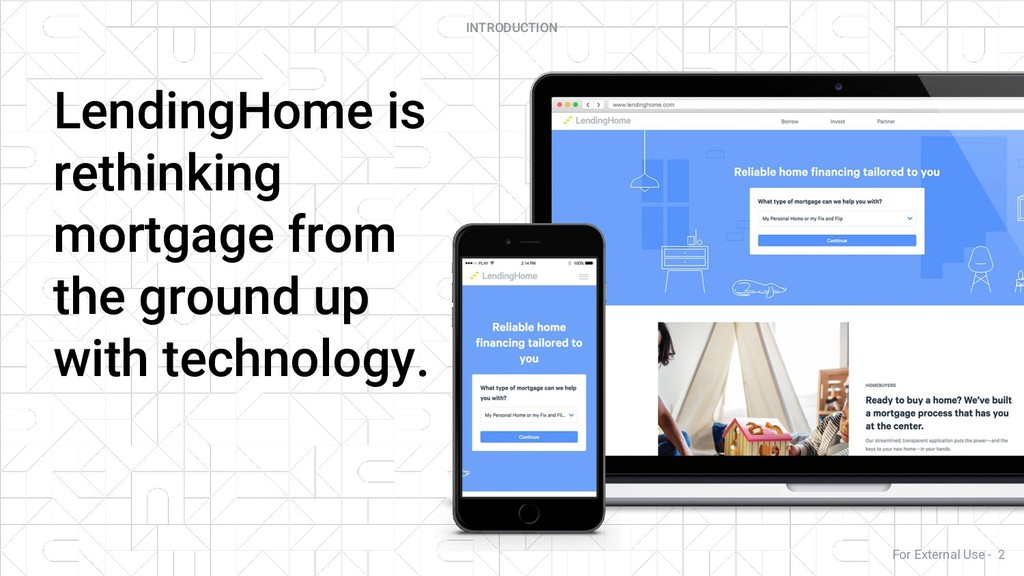 LendingHome is rethinking mortgage from the gro...