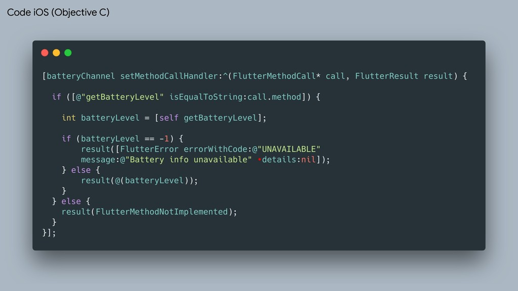 Code iOS (Objective C)