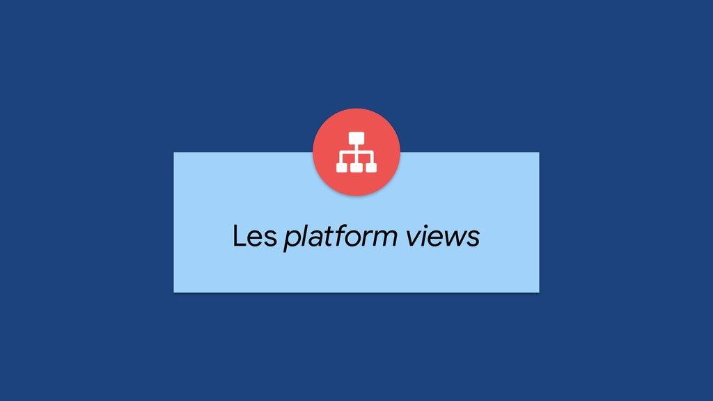 Les platform views