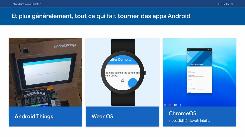 Introduction à Flutter GDG Tours Et plus généra...