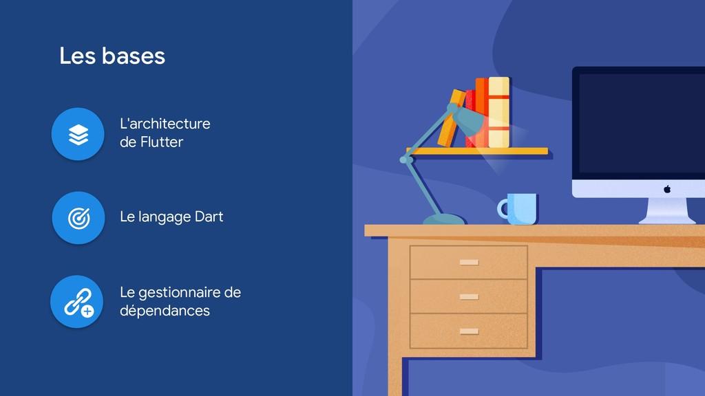 Les bases Le langage Dart L'architecture   de F...