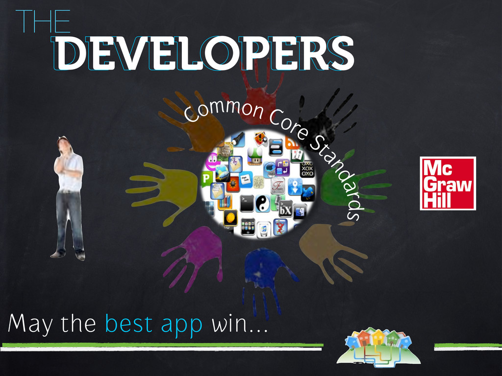 THE DEVELOPERS DEVELOPERS May the best app win....