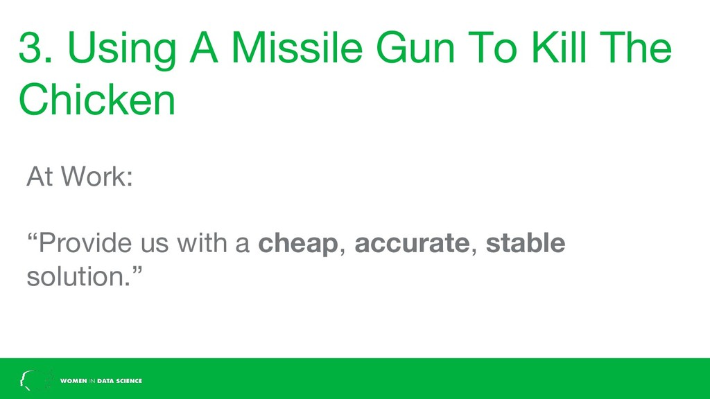3. Using A Missile Gun To Kill The Chicken At W...