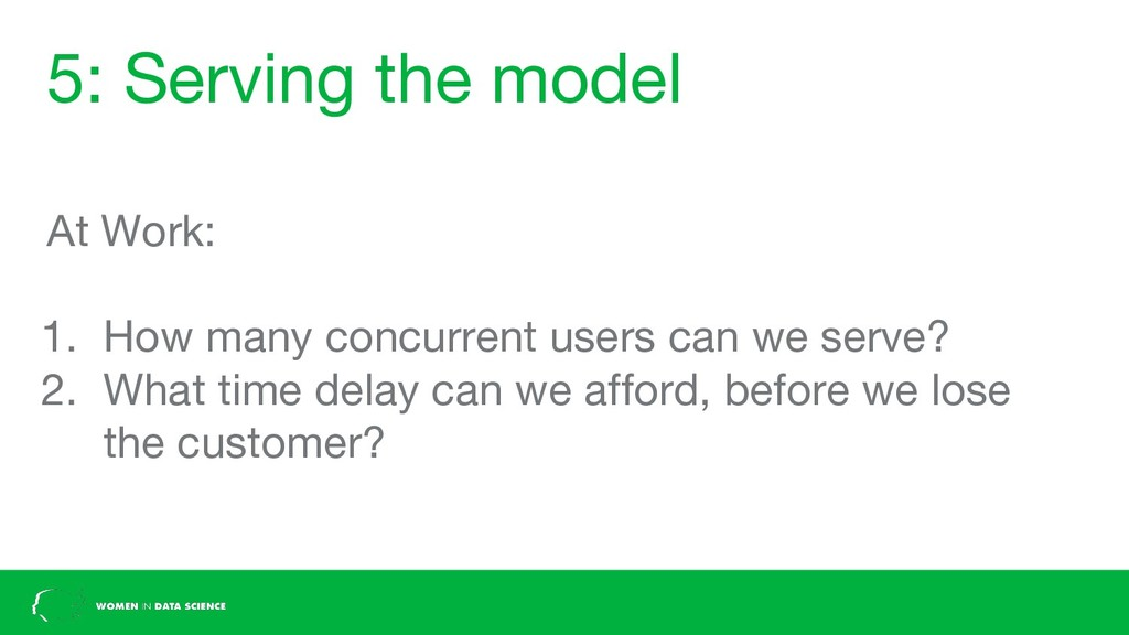 5: Serving the model At Work: 1. How many concu...