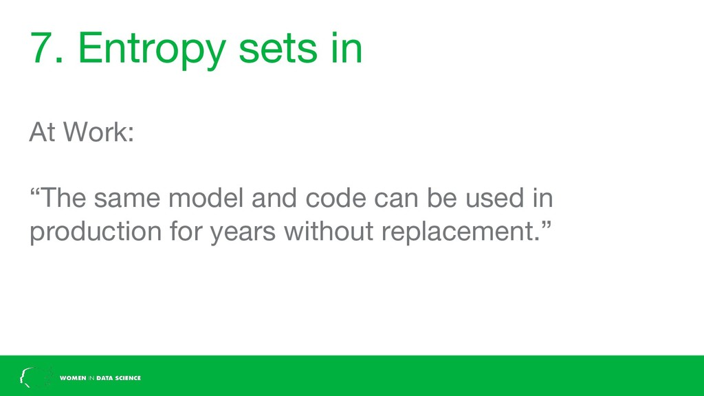 """7. Entropy sets in At Work: """"The same model and..."""