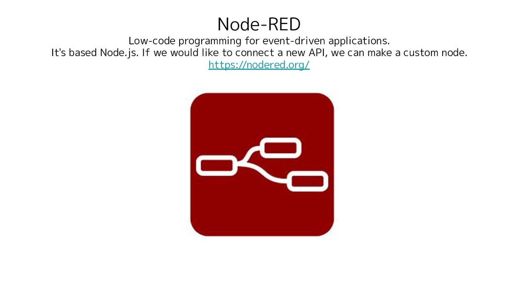 Node-RED Low-code programming for event-driven ...