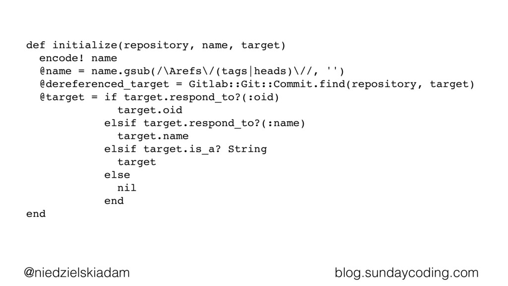 @niedzielskiadam blog.sundaycoding.com def init...