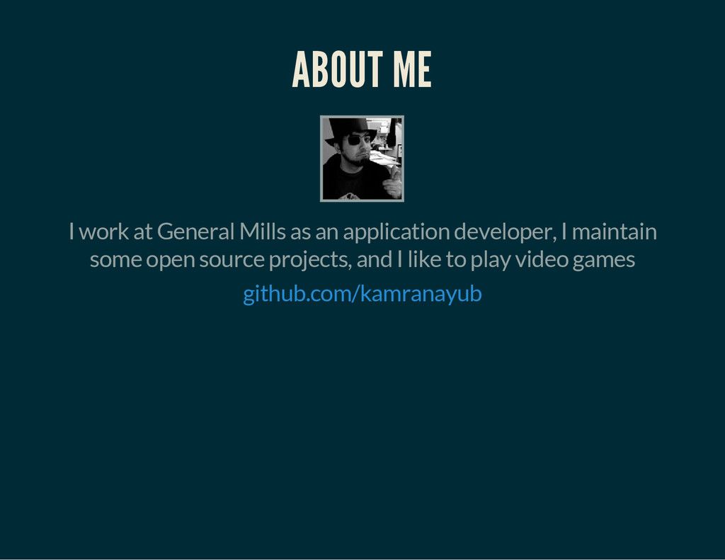 ABOUT ME I work at General Mills as an applicat...