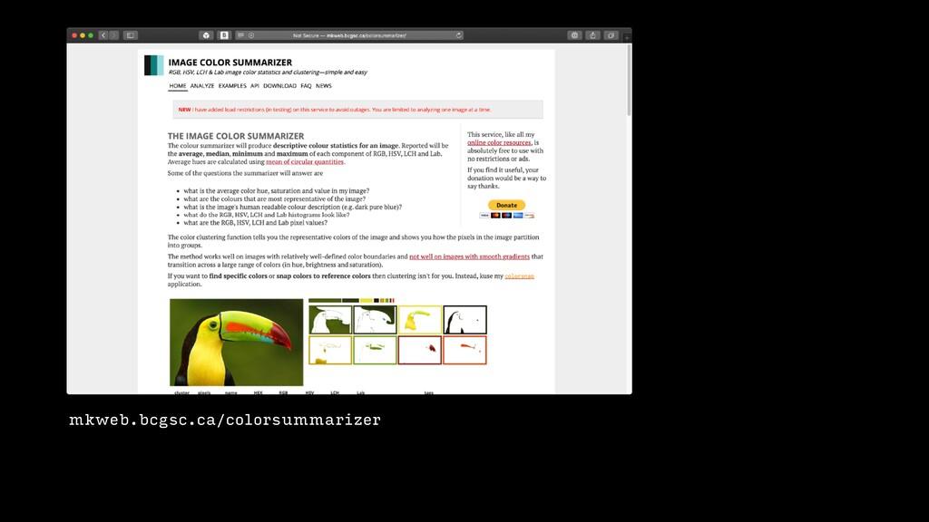 mkweb.bcgsc.ca/colorsummarizer
