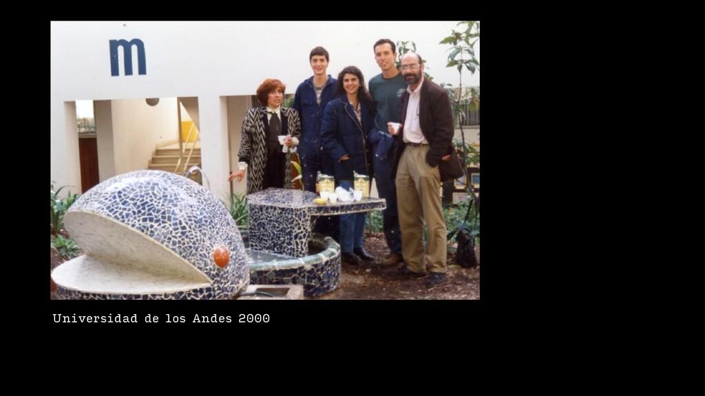 Universidad de los Andes 2000