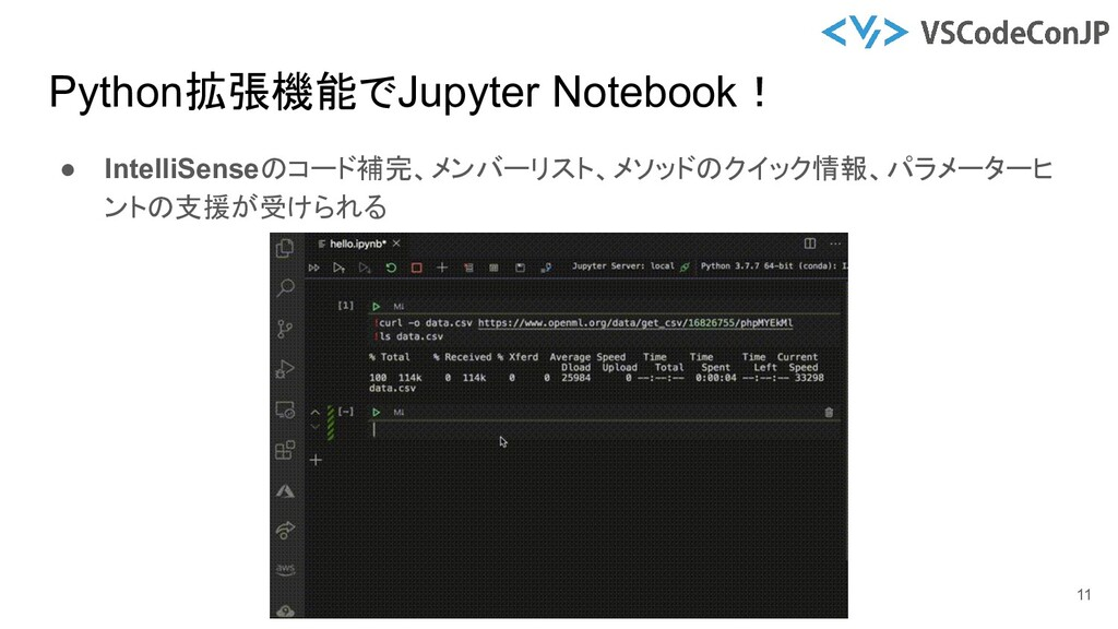 ● IntelliSenseのコード補完、メンバーリスト、メソッドのクイック情報、パラメーター...