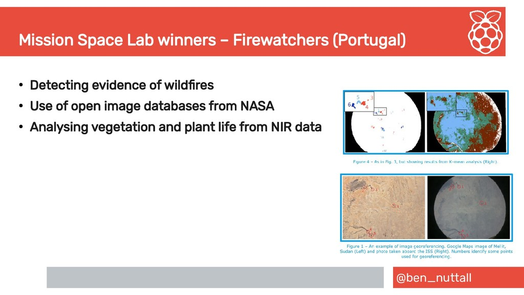 @ben_nuttall Mission Space Lab winners – Firewa...