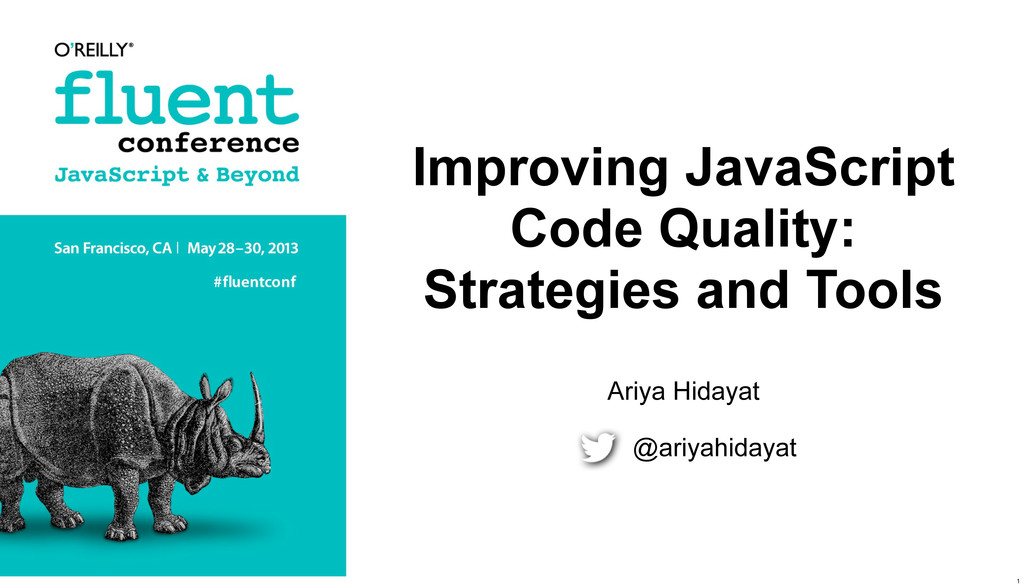 Improving JavaScript Code Quality: Strategies a...