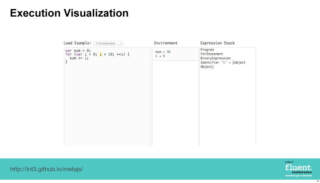 Execution Visualization http://int3.github.io/m...