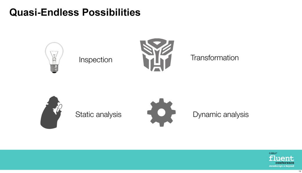 Quasi-Endless Possibilities Static analysis Ins...