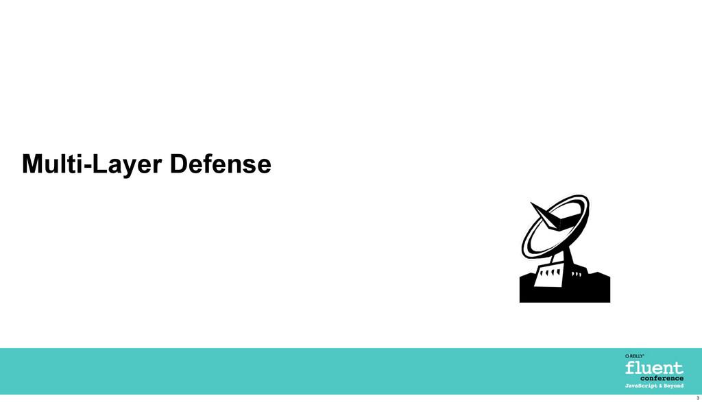 Multi-Layer Defense 3