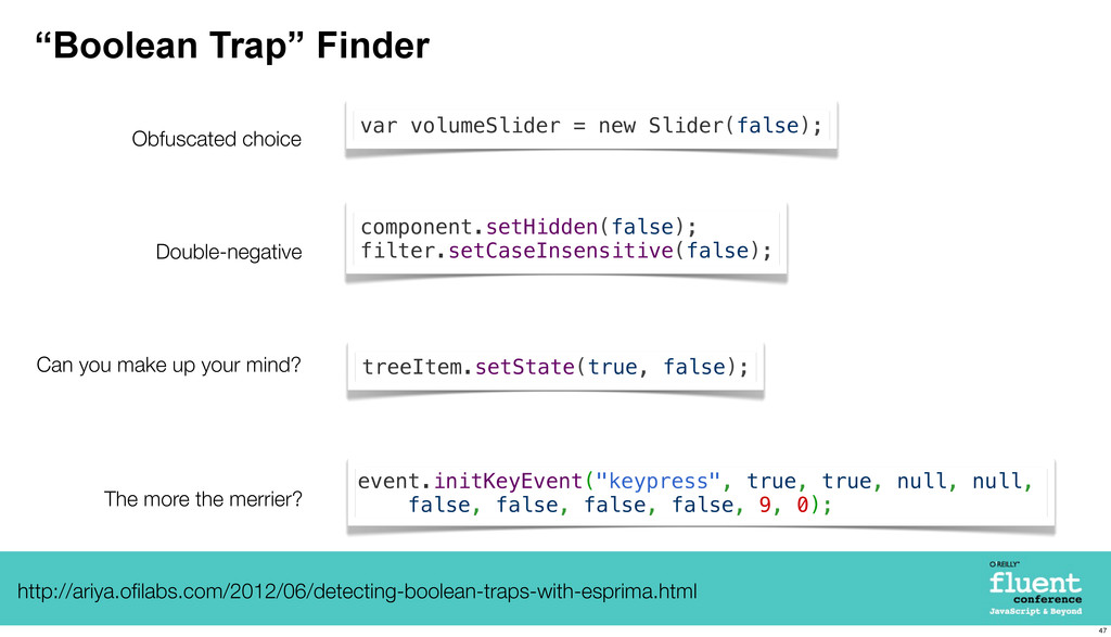 """""""Boolean Trap"""" Finder Can you make up your mind..."""